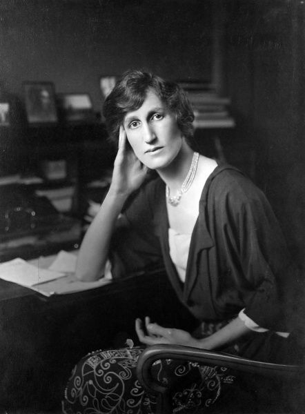 Photographic portrait of Violet Bonham-Carter (1887-1969), nee Asquith, the Liberal politician and Governor of the BBC, pictured c.1915