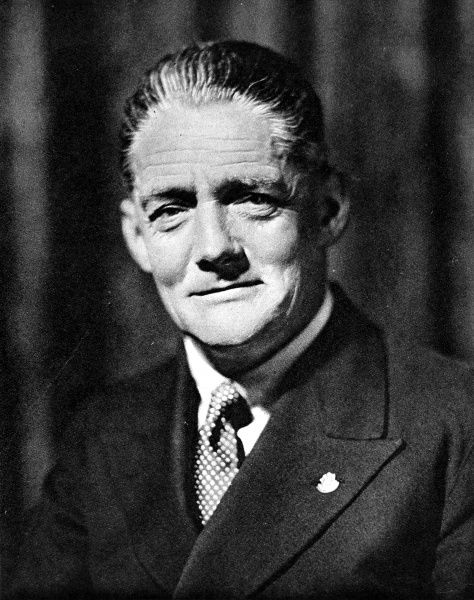Photographic portrait of William Richard Morris, Viscount Nuffield (1877-1963), the founder of the Morris Motor Company and philanthropist
