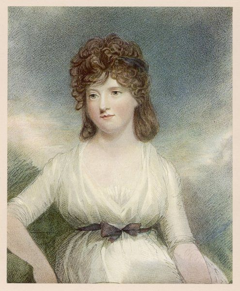 JANE ELIZABETH (COKE) VISCOUNTESS ANDOVER Wife of Charles Howard, Viscount Andover; later married Sir Henry Digby
