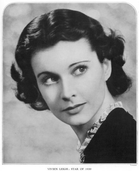 "VIVIEN LEIGH British actress photographed shortly after starring in ""Gone With the Wind&quot"