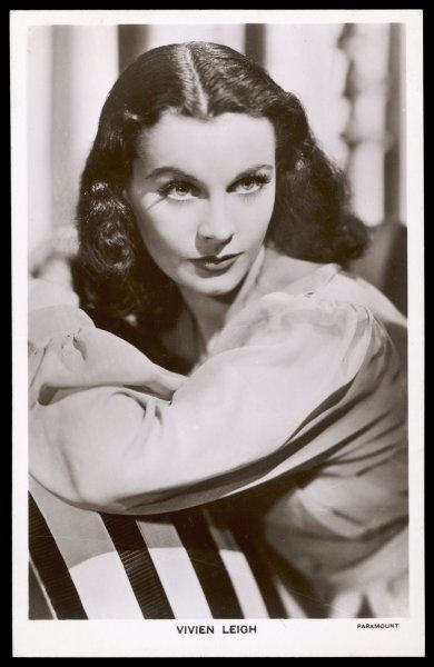 VIVIEN LEIGH English actress of stage and film