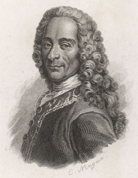 FRANCOIS-MARIE AROUET the French writer and philosopher