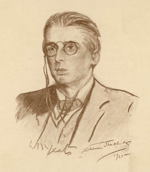 WILLIAM BUTLER YEATS Irish poet and dramatist