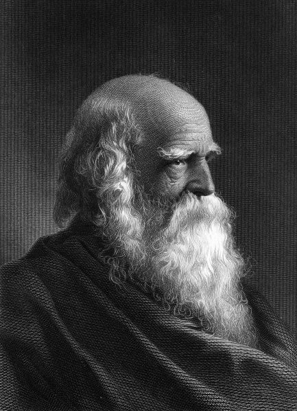WILLIAM CULLEN BRYANT American writer and educator, known for 'Thanatopsis'. Date: 1794 - 1878