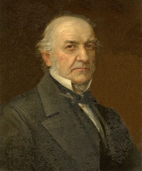 WILLIAM EWART GLADSTONE (1809-1898) Liberal MP, statesman and Prime Minister