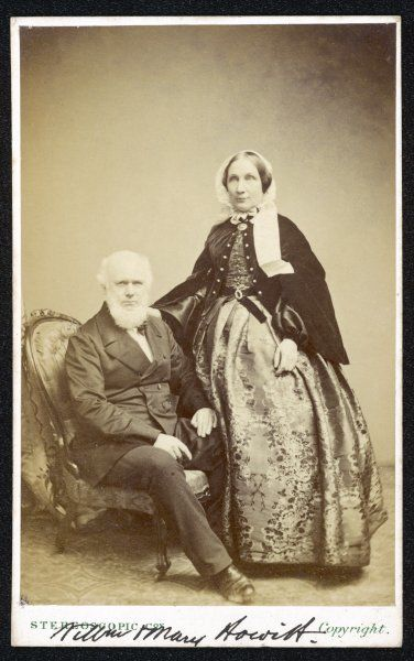 WILLIAM AND MARY HOWITT (Mary: nee BOTHAM) Writers - husband and wife