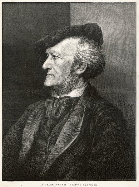 RICHARD WAGNER German composer