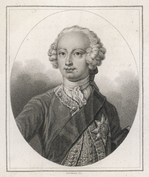 FREDERICK LOUIS PRINCE OF WALES Son of George II, father of George III