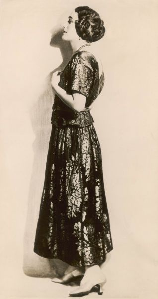 Mrs Ernest Simpson (Bessie Wallis Warfield Simpson), pictured in 1927 when wife of Commander Earl Wingfield Spencer of the US Navy, shortly before her divorce. During her second marriage to Ernest Simpson, she met and began an affair with Edward
