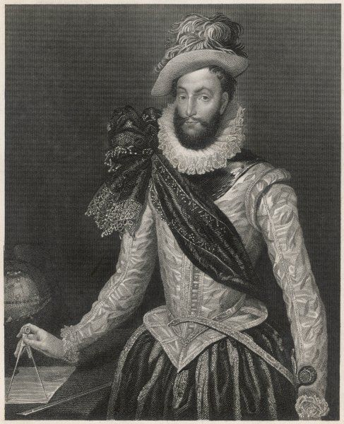 SIR WALTER RALEIGH English courtier, navigator, historian and poet