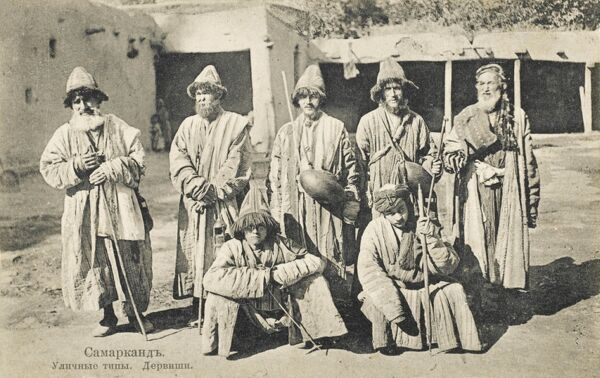 Wandering Uzbek Dervishes from Samarkand. Dervish or Darvesh in Persian usually refers to a person who is a 'seeker of the truth' i.e. ' universal truth'. Within the Islamic tradition such people are often known as Sufis, Sufi