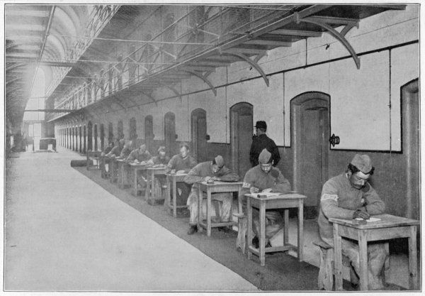 Built in 1851 and originally called the Surrey House of Correction. The inmates writing letters