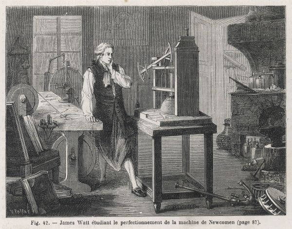 When James Watt was given Newcomen's engine to repair, he quickly saw its inefficiencies and set out to provide remedies. The result, patented in 1769, revolutionised steam engines