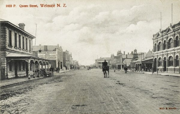 Queen Street, Weimate, New Zealand, South Island