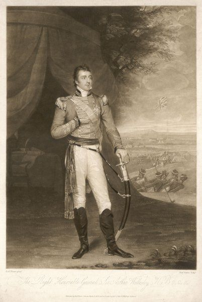 ARTHUR WELLESLEY DUKE of WELLINGTON Soldier and statesman in 1806