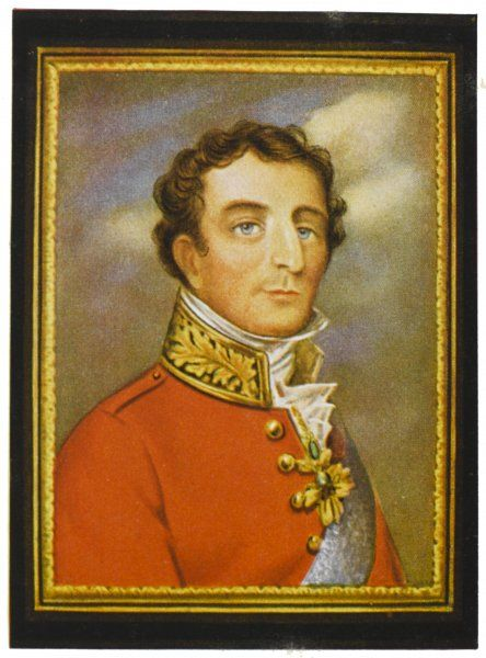 Arthur Wellesley, duke of Wellington, soldier and statesman