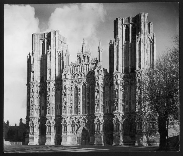 Wells Cathedral, Somerset, has often been described as the perfect English cathedral and the West Front as being the best surviving example of early English architecture