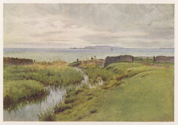 Wessex scenery: Isle of Portland, model for the Isle of Slingers, setting for Thomas Hardy's novel 'The Well-Beloved&#39