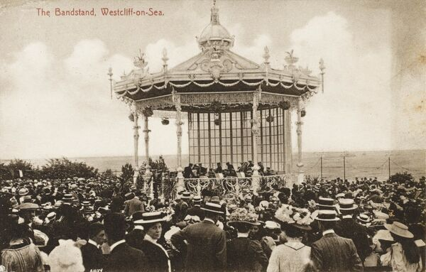 The Bandstand at Westcliff-on-Sea, Essex, close to Southend-on-Sea