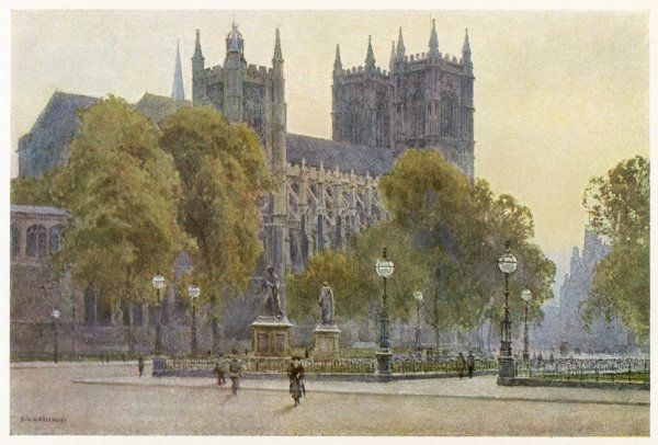 The Abbey from Parliament Square