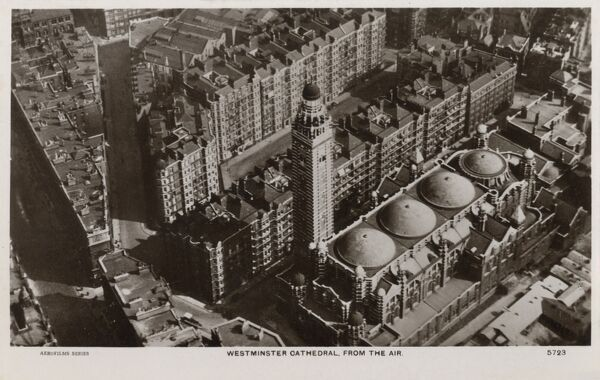 Westminster Cathedral (viewed from the air)