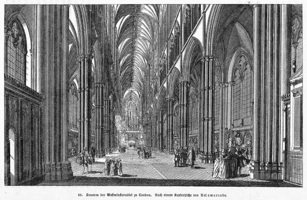 Westminster Hall in the 18th century