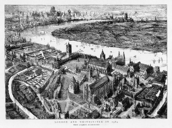 London and Westminster in 1584