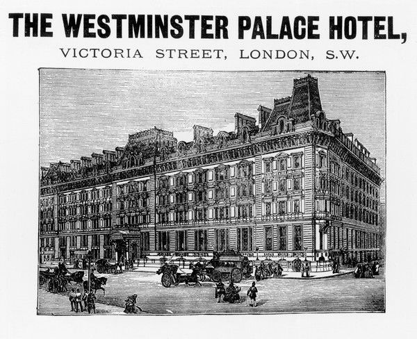 The Westminster Palace Hotel, Victoria Street