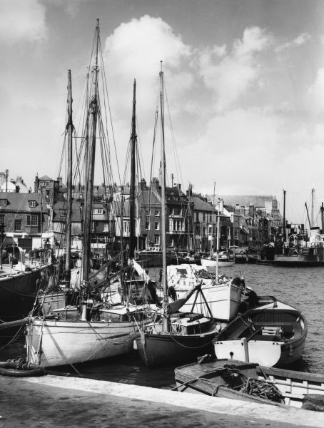 WEYMOUTH harbour and waterfront