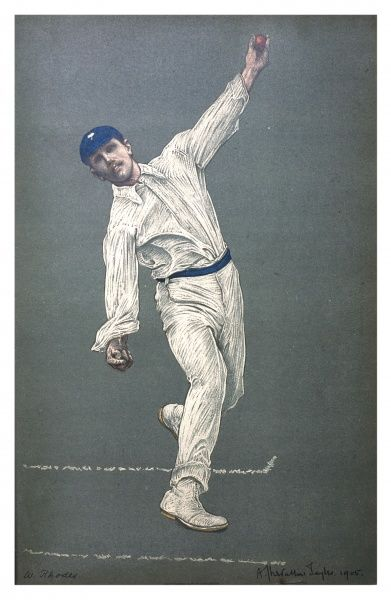 Wilfred Rhodes - the great Yorkshire and England bowler