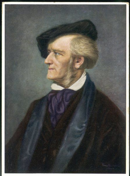 WILHELM RICHARD WAGNER German composer