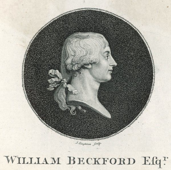 WILLIAM BECKFORD English writer and art collector