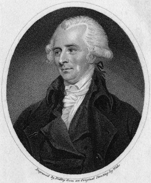 WILLIAM BUCHAN Medical, fellow of the Royal College of Physicians, Edinburgh, author of 'Domestic Medicine'. Date: 1729 - 1825