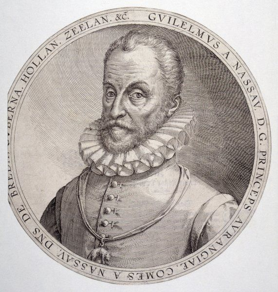 WILLIAM I 'THE SILENT' of ORANGE Dutch Stadholder (1579-84)