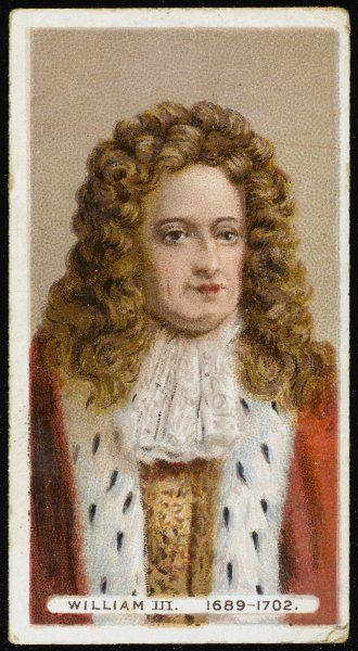 KING WILLIAM III Reigned 1688-1702