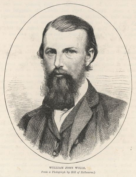 WILLIAM JOHN WILLS English explorer in Australia, associated with the fatal expedition with Burke