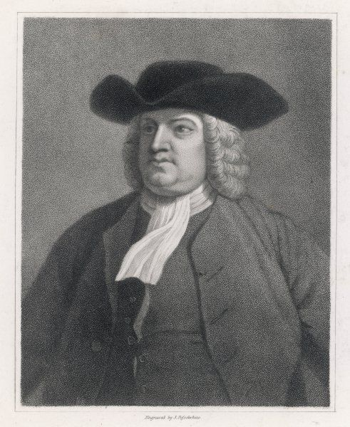WILLIAM PENN English religious reformer and colonialist