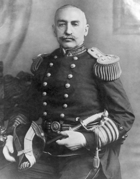 William Shepherd Benson (1855 1932), Admiral in the United States Navy and the first Chief of Naval Operations, holding the post throughout World War One. Date: World War One