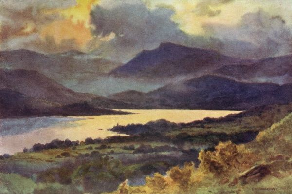 Windermere from Orrest Head Date: circa 1909