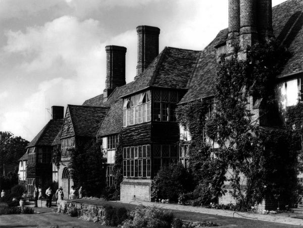 The attractive house at Wisley, Surrey, England, famous for its gardens of the Royal Horticultural Society. Date: 1950s