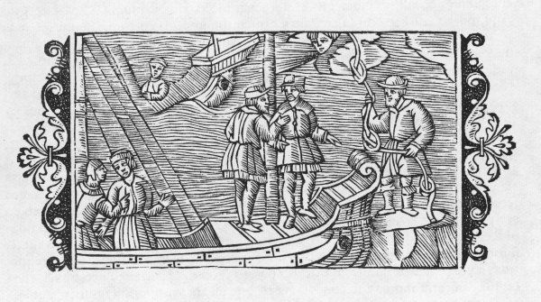 Finnish witches sell favorable winds to sailors