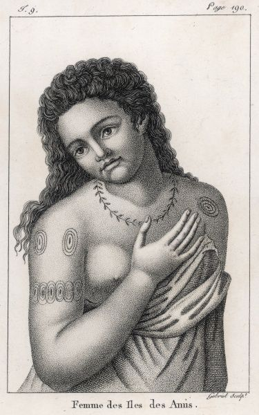 Woman of Tonga