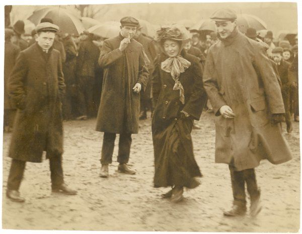 Christabel Pankhurst at the Peckham by-election