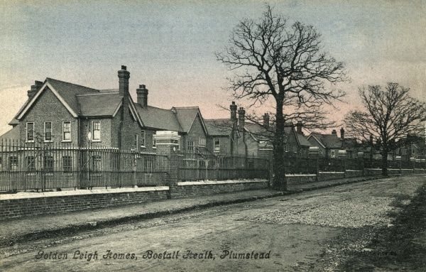 "The Woolwich Union's ""Golden Leigh"" cottage homes at Bostall Heath, Plumstead, south east London, erected in 1899 to house pauper children away from the workhouse"