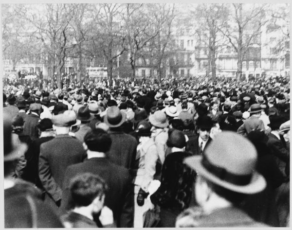 Workers' organisations May Day celebrations in Hyde Park - London