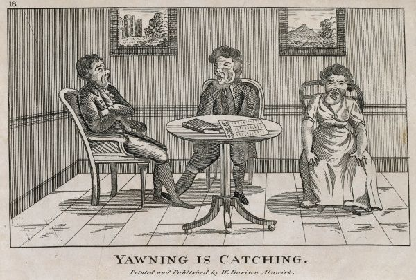 'Yawning is catching&#39