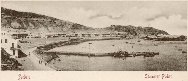 A VERY early view of Aden, Yemen - Steamer Point