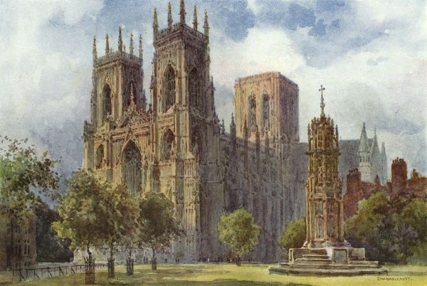The Minster Date: circa 1909