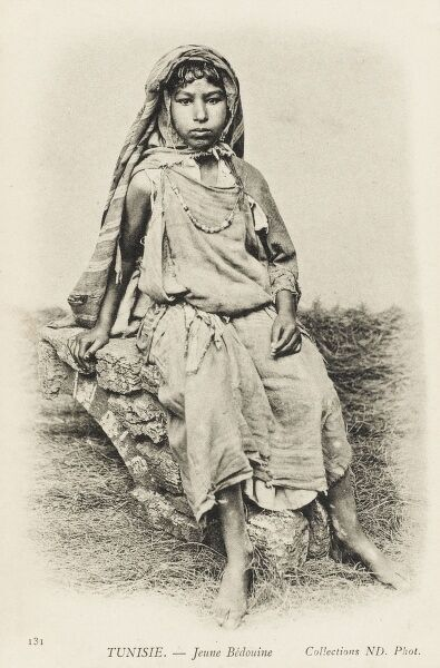 A young Bedouin Girl from Tunisia