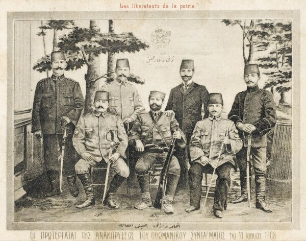 The Young Turk Revolution of 1908 reversed the suspension of the Ottoman parliament by Sultan Abdul Hamid II, marking the onset of the Second Constitutional Era